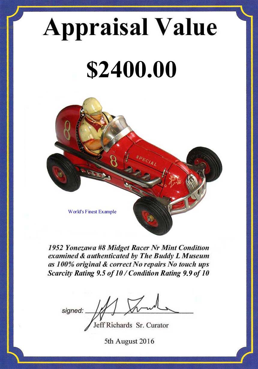 Vintage Tin Toys Price Guide & Information