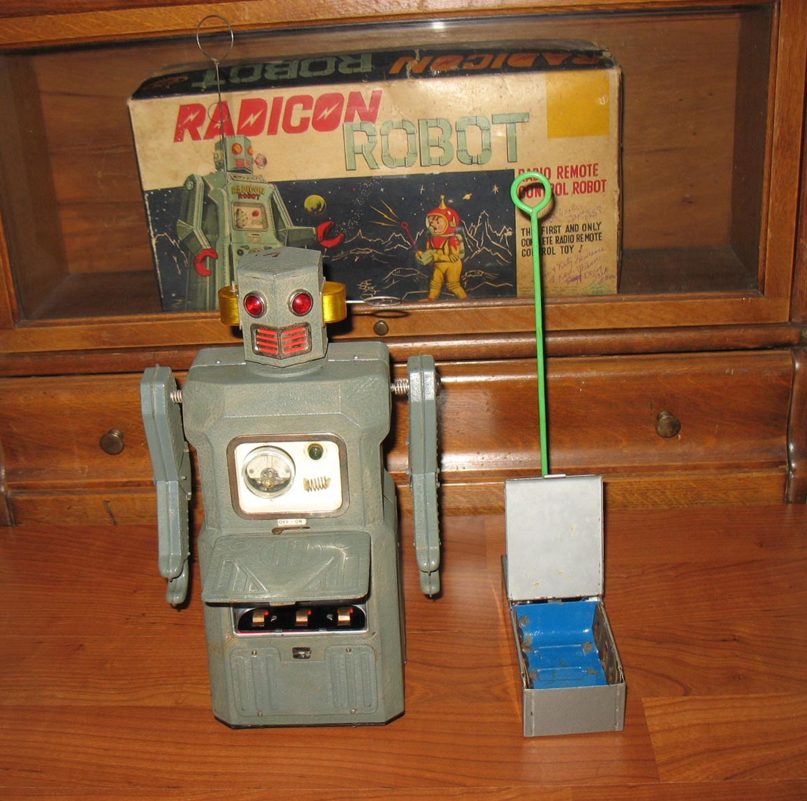 1958 masudaya radicon robot for sale w   original box