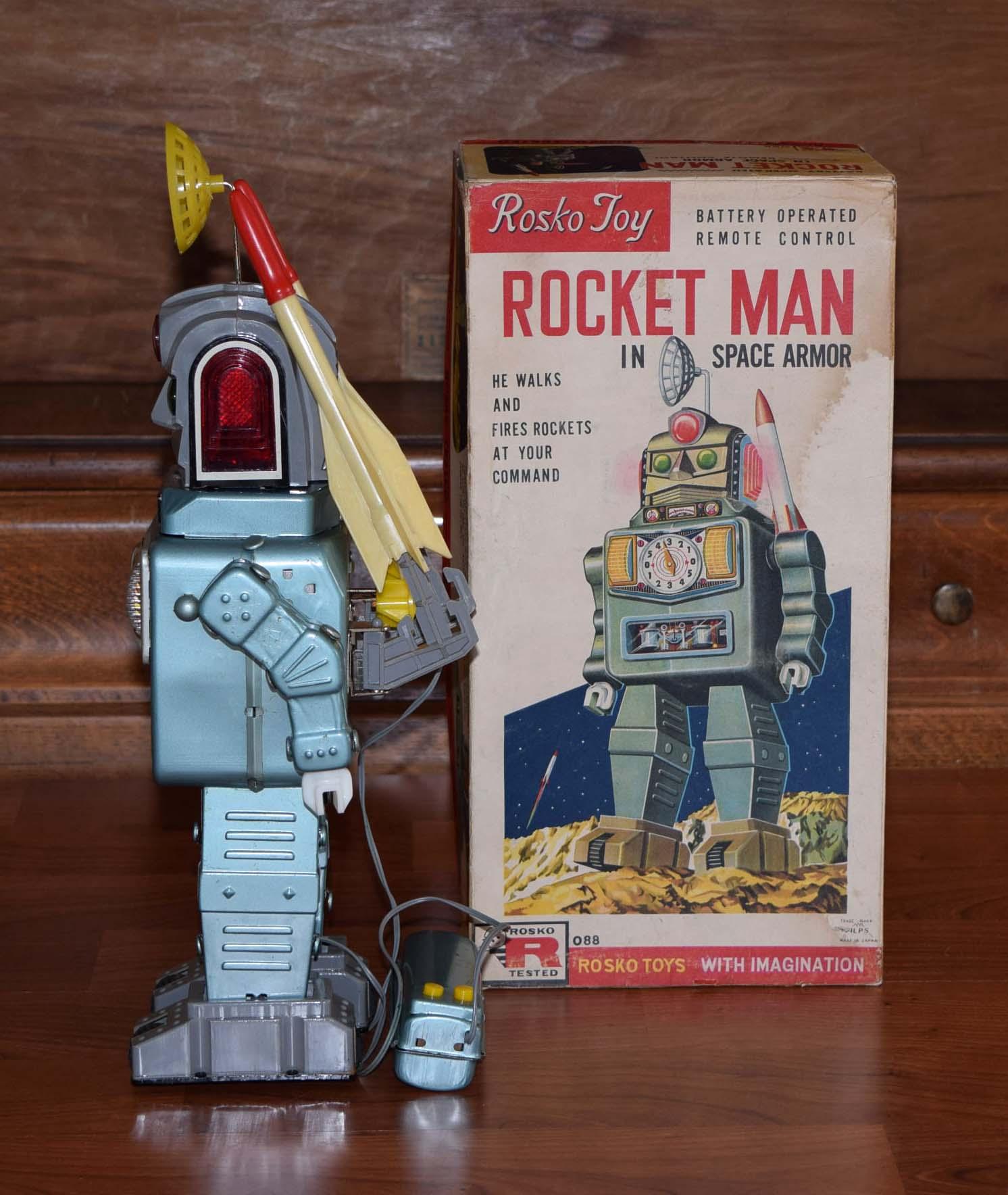 alps rocket man robot for sale