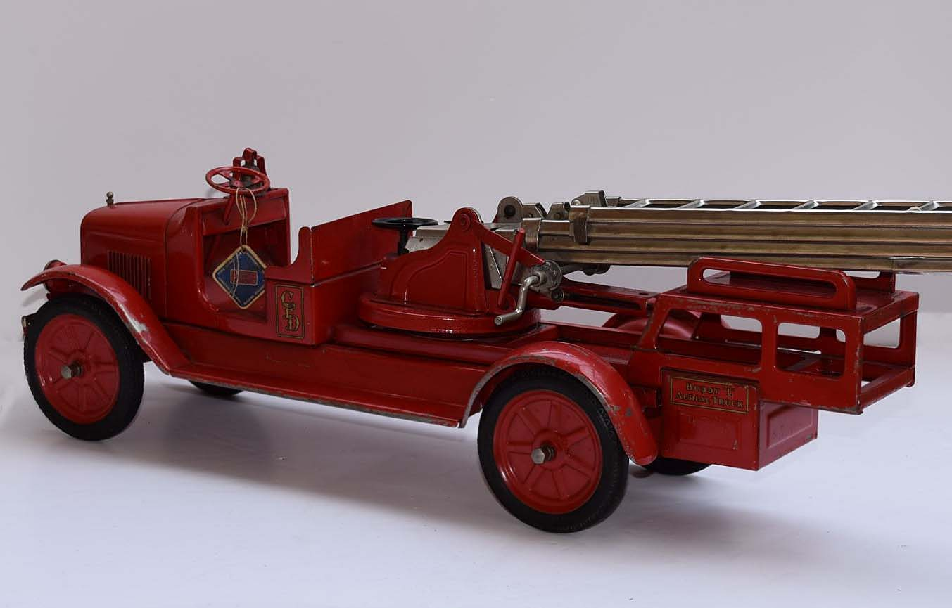 Free Antique Buddy L Fire Truck Price Guide