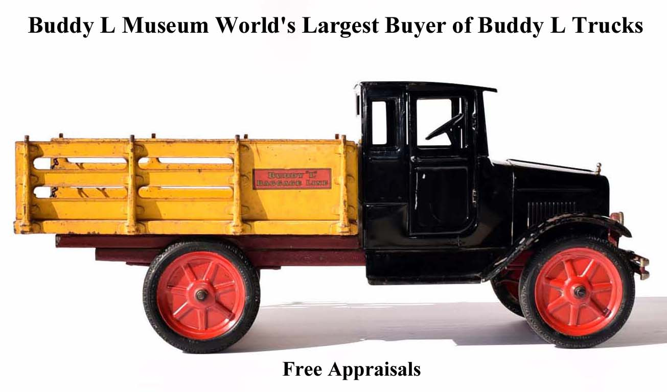 Free Toy Appraisals Buddy L Trucks Cars Trains Robots Popeye
