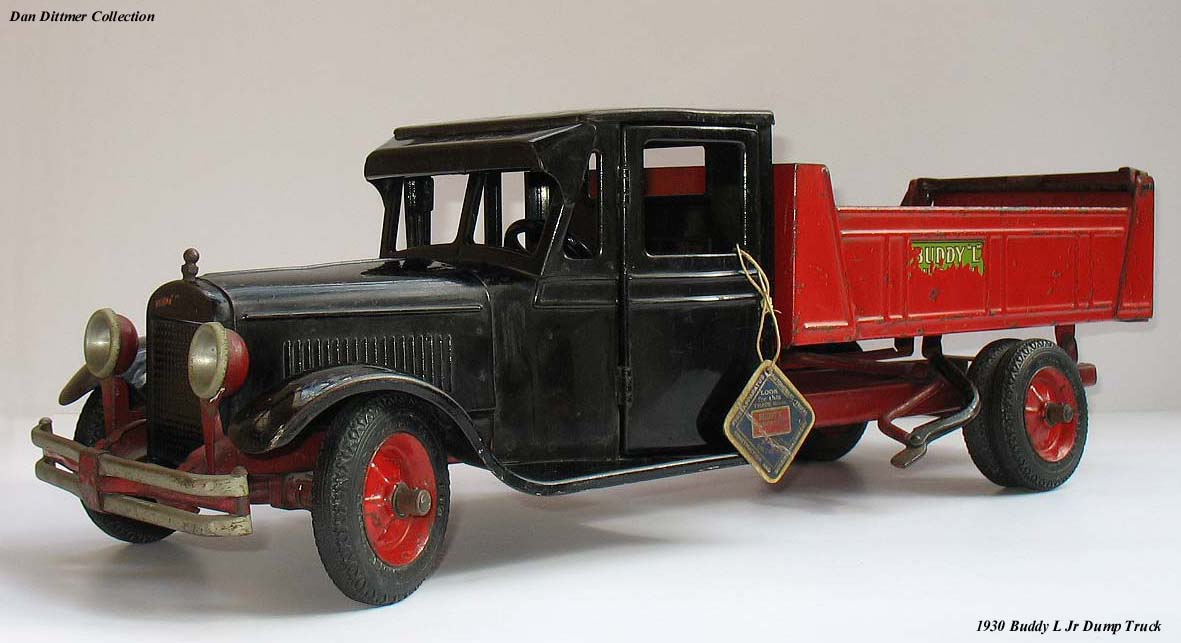 Vintage Buddy L Truck Collection For Sale