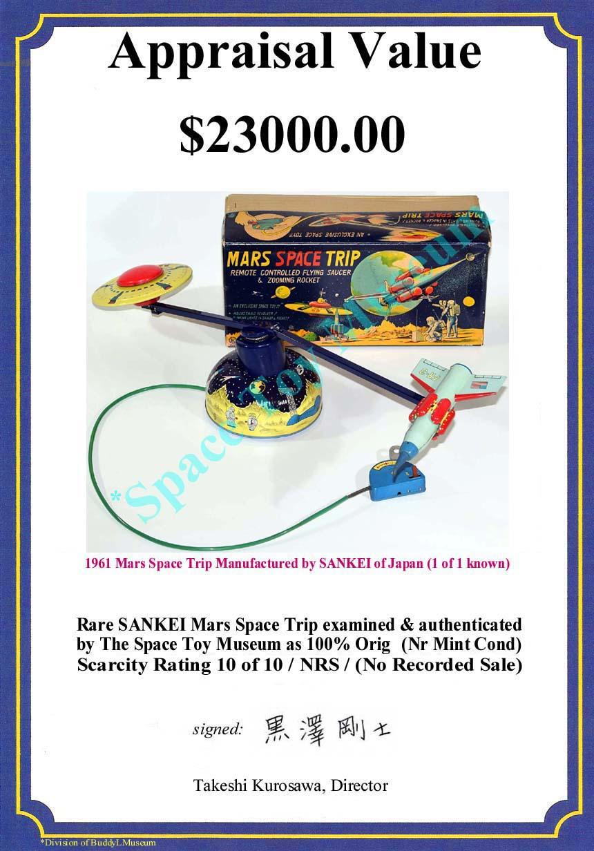 Free Appraisals Vintage Tin Space Toys Robots Rocket Ships Cars