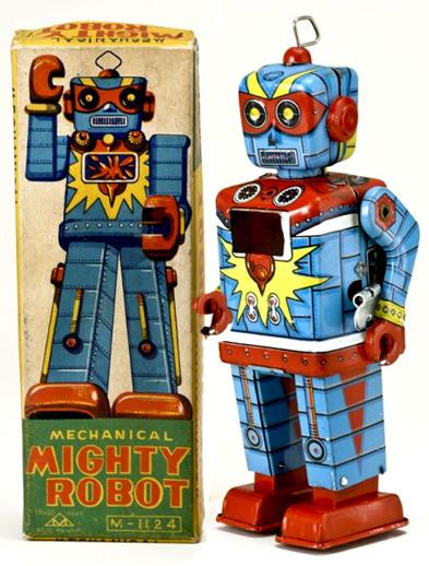Vintage Toy Robots : Buddy l antique transportation toys identification