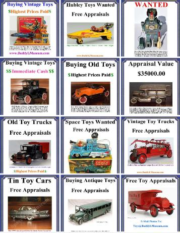 1920's Buddy L Truck Value, Buddy L Truck information,  Buddy L Toys Identification, Vintage Toy Identification guide, Buying Antique Toys, www.buddylmuseum.com, Free Toy Appraisals, Buddy L Truck Price Guide, Vintage Toys Reference Guide