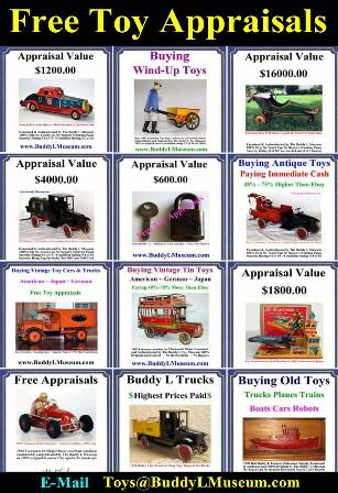 Buddy L Ice Truck Information and Value. Buying Buddy L Toys Buddy L Museum buying vintage toys, buying antique toys any condition. Free Toy Appraisal, Vintage Toy Appraisals. Buddy L Coal Truck For Sale Buddy L Baggage Truck For Sale